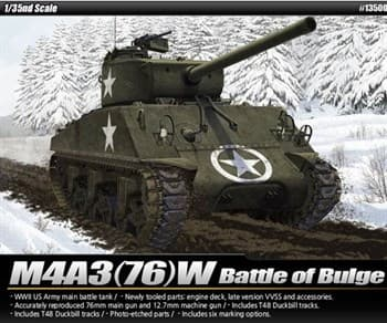 "Танк   M4A3 (76)W ""Battle of Bulge""   (1:35)"