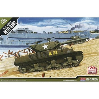 "САУ  US ARMY M10 GMC ""Anniv.70 Normandy Invasion 1944""  (1:35)"