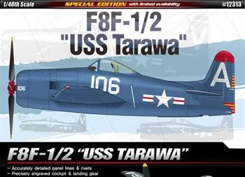 Самолет  F8F-1/2 Bearcat USS Tarawa  (1:48)
