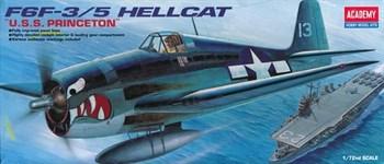 Самолёт  F6F-3/5 HELLCAT  (1:72)