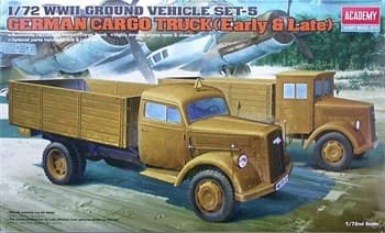 Немецкий грузовик (1:72)