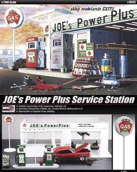 """Станция автосервиса  """"JoeACs Power Plus"""" (1:24)"""
