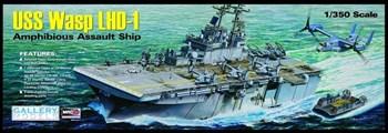 Корабль Uss Wasp Lhd-1  (1:350)