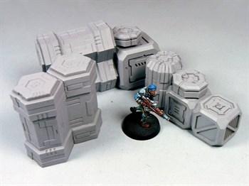"""Купите Cargo Crates Set 2 в интернет-магазине """"Лавка Орка"""". Доставка по РФ от 3 дней."""