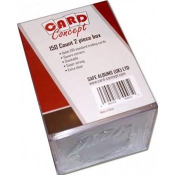 КОРОБОЧКА CARD CONCEPT ПРОЗРАЧНАЯ НА 150 КАРТ