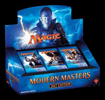 Дисплей Бустеров издания «Modern Masters 2017» на английском языке (eng) (24 бустера) ПРЕДЗАКАЗ