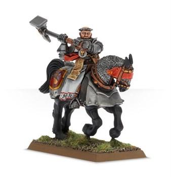 WARRIOR PRIEST ON WARHORSE