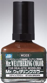 WC03 КРАСКА 40МЛ MR.WEATHERING COLOR WC03