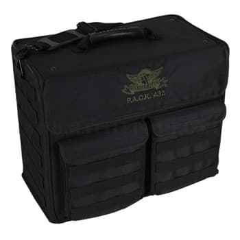 .A.C.K 432 MOLLE VERTICAL STANDARD LOAD OUT (BLACK)