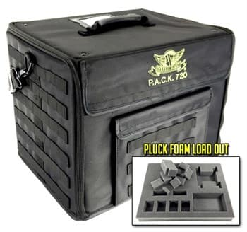 P.A.C.K. 720 MOLLE PLUCK FOAM LOAD OUT (BLACK)