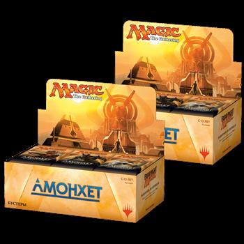 Два дисплея бустеров издания «Амонхет» на русском языке (72 бустера)(rus)