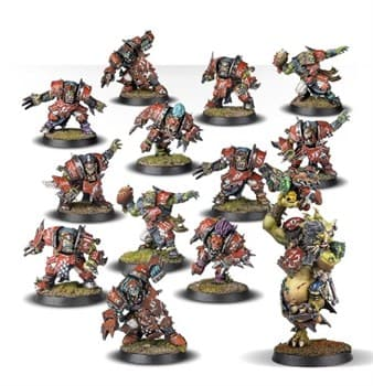 BLOOD BOWL GOUGED EYE & TROLL