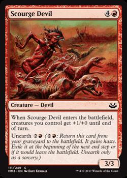 Scourge Devil FOIL Англ.