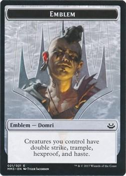 Emblem — Domri Англ.