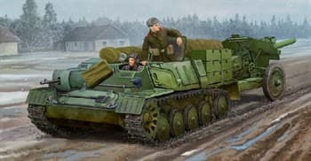 ТЯГАЧ SOVIET AT-P ARTILLERY TRACTOR (1:35)