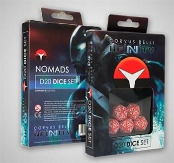 "Купите Nomads D20 Dice Set в интернет-магазине ""Лавка Орка"". Доставка по РФ от 3 дней."