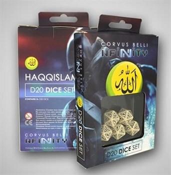 """Купите Haqqislam D20 Dice Set в интернет-магазине """"Лавка Орка"""". Доставка по РФ от 3 дней."""