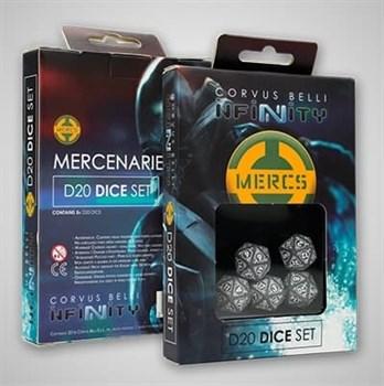 "Купите Mercenaries D20 Dice Set в интернет-магазине ""Лавка Орка"". Доставка по РФ от 3 дней."