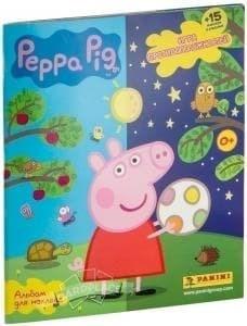 """АЛЬБОМ PANNI """"PEPPA PIG/СВИНКА ПЕППА. ИГРА ПРОТИВОПОЛОЖНОСТЕЙ"""