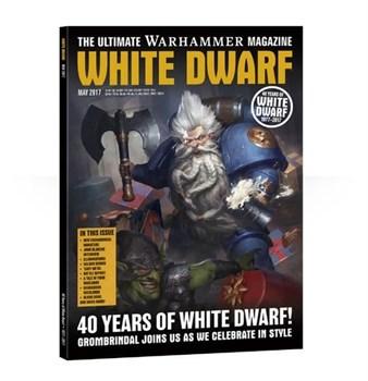 "Журнал ""Белый Дварф Май 2017 (White Dwarf May 2017)"""