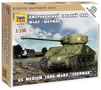 Купите Танк  Шерман  (1:100) в интернет-магазине «Лавка Орка». Доставка по РФ от 3 дней.