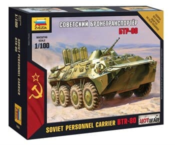 Купите Танк Бтр-80 (1:100) в интернет-магазине «Лавка Орка». Доставка по РФ от 3 дней.