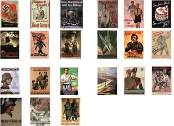 Купите Военные плакаты Германия - 2 (масштаб 1/35) в интернет-магазине «Лавка Орка». Доставка по РФ от 3 дней.