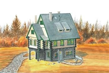Купите Тирольский домик (1:120) в интернет-магазине «Лавка Орка». Доставка по РФ от 3 дней.