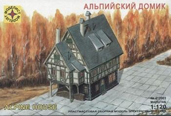 Купите Альпийский  домик (1:120) в интернет-магазине «Лавка Орка». Доставка по РФ от 3 дней.