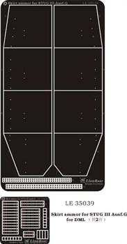 Купите Боковые экраны на Штурмгешутц III G (для DML 9014/9058) в интернет-магазине «Лавка Орка». Доставка по РФ от 3 дней.