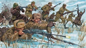 Купите Фигуры советская пехота (WWII. winter) (1:72) в интернет-магазине «Лавка Орка». Доставка по РФ от 3 дней.