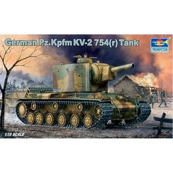 Купите Танк  Pz.Kpfw KV-2 754 ( r ) (1:35) в интернет-магазине «Лавка Орка». Доставка по РФ от 3 дней.