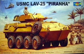 Купите БТР LAV-25 PIRANHA (1:35) в интернет-магазине «Лавка Орка». Доставка по РФ от 3 дней.
