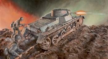 Купите Танк Pz.Kpfw. I Ausf.B (1:35) в интернет-магазине «Лавка Орка». Доставка по РФ от 3 дней.