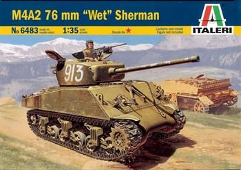 "Купите Танк  M4A2 76mm ""WET"" Шерман (1:35) в интернет-магазине «Лавка Орка». Доставка по РФ от 3 дней."