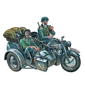 """Купите Мотоцикл """"Цундапп"""" KS750 (1:35) в интернет-магазине «Лавка Орка». Доставка по РФ от 3 дней."""