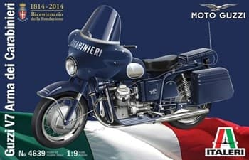 Купите Мотоцикл GUZZI V7 Arma dei carabinieri (1:9) в интернет-магазине «Лавка Орка». Доставка по РФ от 3 дней.