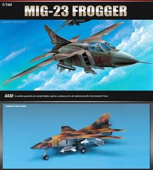 Купите Самолет  M-23 FLOGGER  (1:144) в интернет-магазине «Лавка Орка». Доставка по РФ от 3 дней.