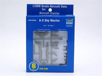 """Купите Самолет  A-3D """"Скай Уорриор"""" (6шт) (1:350) в интернет-магазине «Лавка Орка». Доставка по РФ от 3 дней."""