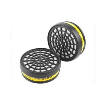 """Фильтр ЗУБР """"ЭКСПЕРТ"""" сменный для респираторов и масок тип P3 от пыли и аэрозолей, 2 шт"""