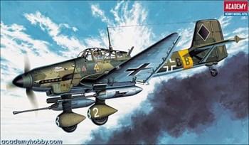 "Купите Самолет  JU-87G STUKA ""TANK BUSTER"" (1:72) в интернет-магазине «Лавка Орка». Доставка по РФ от 3 дней."