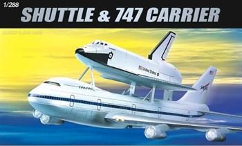 Купите Самолёт  Space Shuttle & Jumbo 747 (1:288) в интернет-магазине «Лавка Орка». Доставка по РФ от 3 дней.