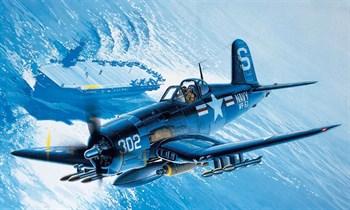 Купите Самолет  VOUCHT F4U-4B CORSAIR (1:48) в интернет-магазине «Лавка Орка». Доставка по РФ от 3 дней.