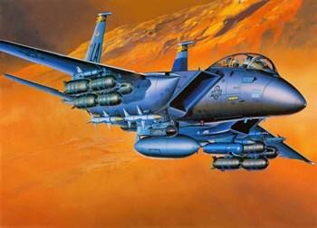 Купите Самолет  F-15E STRIKE EAGLE (1:72) в интернет-магазине «Лавка Орка». Доставка по РФ от 3 дней.