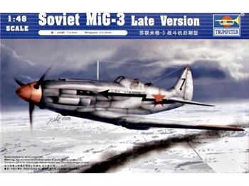 Купите Самолет  МиГ-3 (поздняя версия) (1:48) в интернет-магазине «Лавка Орка». Доставка по РФ от 3 дней.