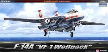 """Купите Самолет  F-14A """"VF-1 WOLF PACK"""" (1:72) в интернет-магазине «Лавка Орка». Доставка по РФ от 3 дней."""