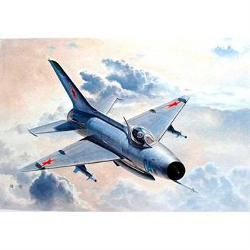 Купите  Самолёт  МиГ-21Ф-13/J-7 (1:48) в интернет-магазине «Лавка Орка». Доставка по РФ от 3 дней.