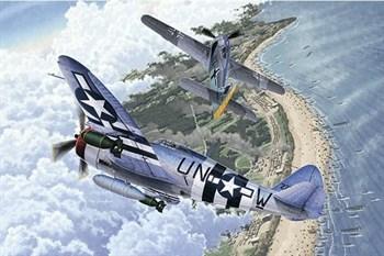 "Купите  Самолет  P-47D & FW190A-8 ""Annv.70 Normandy Invasion 1944"" (1:72) в интернет-магазине «Лавка Орка». Доставка по РФ от 3 дней."