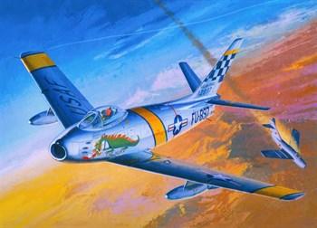 """Купите Самолёт  F-86F """"The Huff"""" (1:48) в интернет-магазине «Лавка Орка». Доставка по РФ от 3 дней."""