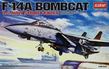 "Купите Самолет  F-14 ""Бомбкэт"" (1:48) в интернет-магазине «Лавка Орка». Доставка по РФ от 3 дней."
